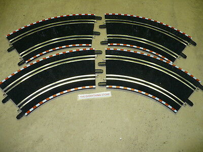 Scx Compact 1 43 Slot Car  4  Outside Corner Tracks New Free Ship