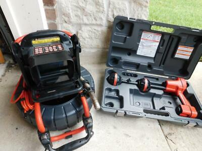 Ridgid Color Compact2 Seesnake Video Inpsection Sewer Camera Cs6x Pak Scout Loca