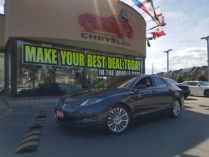 2014 Lincoln MKZ NAVI REAR CAM ALLOY WHEELS
