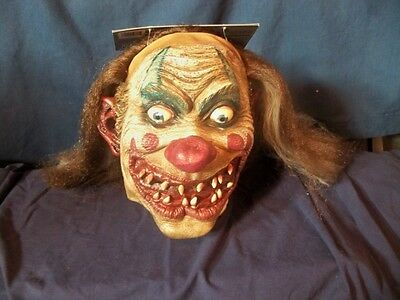 Scary Carnival (ADULT CARNIVAL DRIFTER CLOWN CRAZY INSANE EVIL SCARY MASK COSTUME)