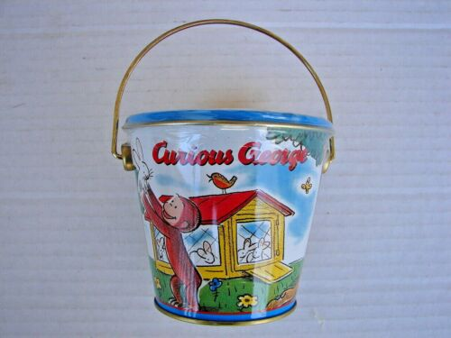 Curious George Chocolate Harry London Truffle Pail Tin FACTORY SEALED UNIVERSAL