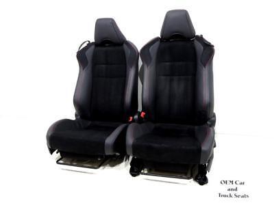 Scion Leather Seats - SUBARU BRZ HEATED LEATHER ALCANTARA SEATS 86 SCION FR-S 2013 2014 2015 2016 2017