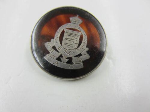Vintage Collett Anderson Honi soit qui mal y pense Sterling Pin Order of Garter