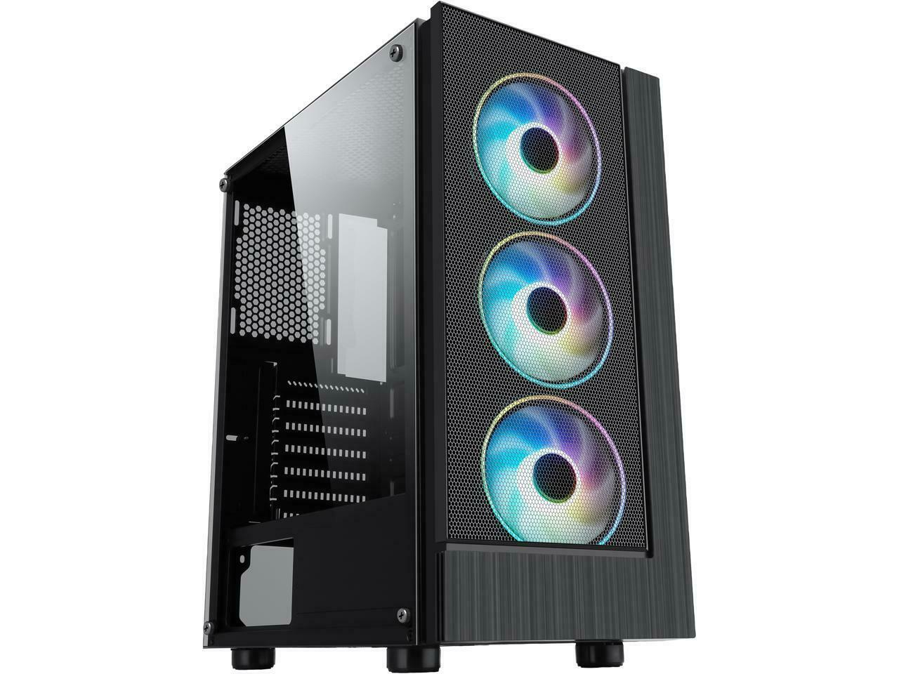 10-Core Gaming Computer Desktop PC Tower 3TB Quad 16GB DDR4 AMD Graphics WIFI PC