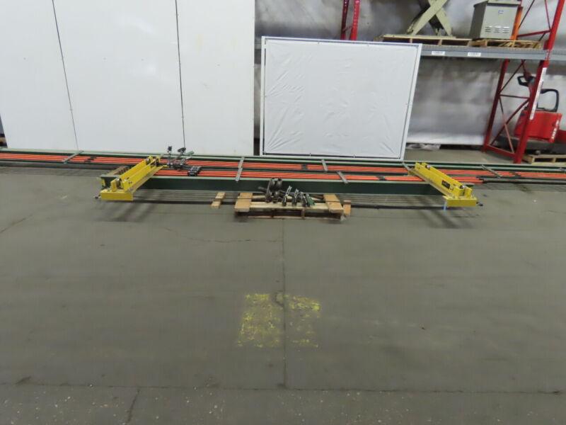 1/2 Ton Ceiling Mounted Single Girder Bridge Crane 14