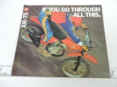 NOS 1980 Honda ATC70 Dealer Brochure L824