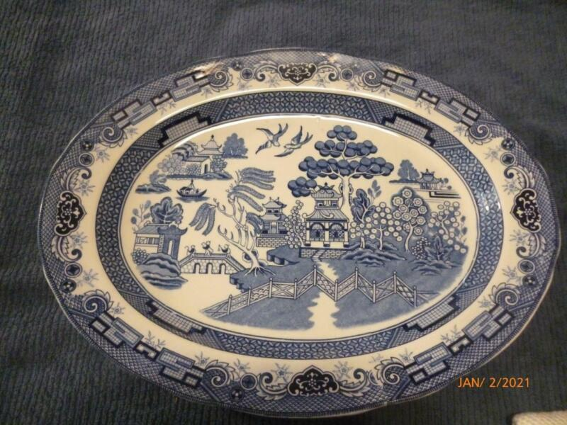 BLUE WILLOW EXTRA LARGE HERITAGE MINT PLATTER