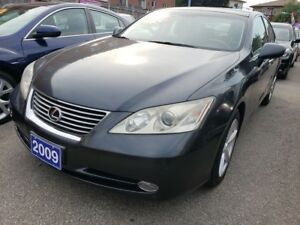 2009 Lexus ES 350 Navigation/Camera/Leather/Power Seats/Roof/All