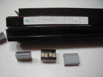 Hp Hdlg-2416 4 Digit Dot Matrix Led Display 7 X 5 Dot Matrix Green Nos