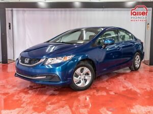2014 Honda Civic Sedan LX**AUTOMATIQUE**BLUETHOOT**BANCS CHAUFFA