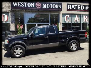 2004 Ford F-150 PWR GRP*A/C*LEATHER*GREAT SHAPE!!*SOLD AS IS!!*