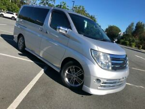2009 Nissan Elgrand E51 Series 3 Rider Autech Silver 5 Speed Automatic Wagon Arundel Gold Coast City Preview