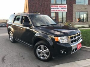 GORGEOUS LOADED 2011 FORD ESCAPE  LIMITED CERTIFIED WARRANTY