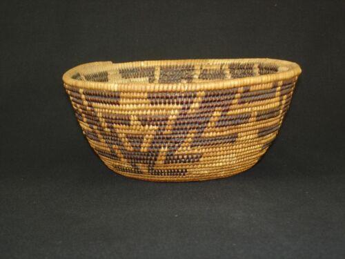 A very nice Maidu bowl basket, Native American Indian, c.1915