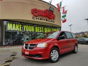 2015 Dodge Grand Caravan CANADA VALUE PACKAGE REAR STOW AND GO K