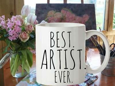 Artist Gifts Best Artist Ever Mug Custom Gift for Artists Art Student Gift (Best Gifts For Art Students)