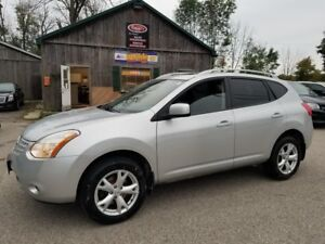2008 Nissan Rogue SL AWD, Leather, SUNROOF, CERTIFIED