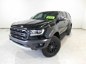 2019 Ford Ranger PX MkIII MY19 RAPTOR 2. (4x4)DOUBLE DTT4 Black Automatic Utility