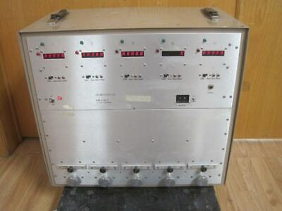 Ludlum Measurements Monitor 148-2 Alpha Counter 5 Place Sample Stage Digital