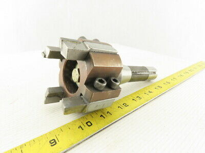 R8 Shank Shell Mill Tool Holder W4 Cutter Indexable Face Mill 2-78 Diameter