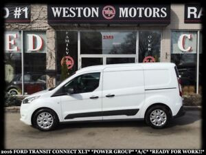 2016 Ford Transit Connect XLT*POWER GROUP*A/C*READY FOR WORK!!*