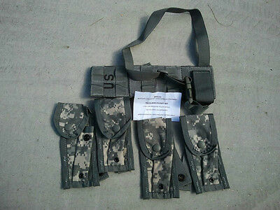 US MILITARY MOLLE II PISTOLMAN POCKET SET, ACU CAMO NEW IN BAG!!