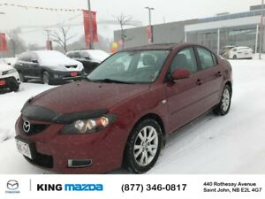 2008 Mazda Mazda3 GS AUTO..ONE OWNER..LOCAL TRADE..LOW KMS..POWE