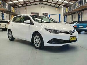 2017 Toyota Corolla ZRE182R MY15 Ascent Glacier White 7 Speed CVT Auto Sequential Hatchback