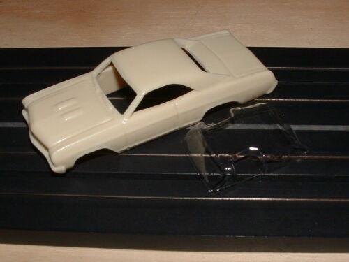 Resin HO Buick Skylark Slot Car Body With Window