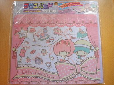 Sanrio Little Twin Stars Kiki Lala Room Pink Computer Mouse Pad