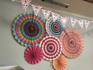 Circus/carnival party decorations