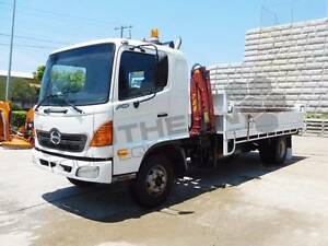 Hino FD1J Tipper Truck with crane, only 140,000Kms 2003 model! Brisbane City Brisbane North West Preview