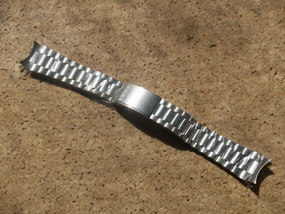 SEIKO LIGHT WEIGHT 19mm STAINLESS STEEL WATCH STRAP REF B1375S