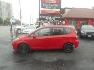 2007 Honda Fit LX / LOW KMS / FUEL SAVER / ICE COLD A/C /