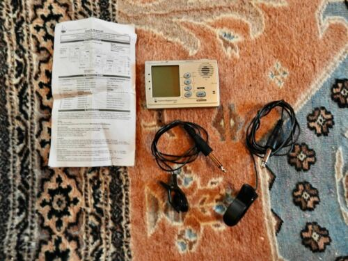 HBT1 Highland Bagpipe Tuner with 2 microphones
