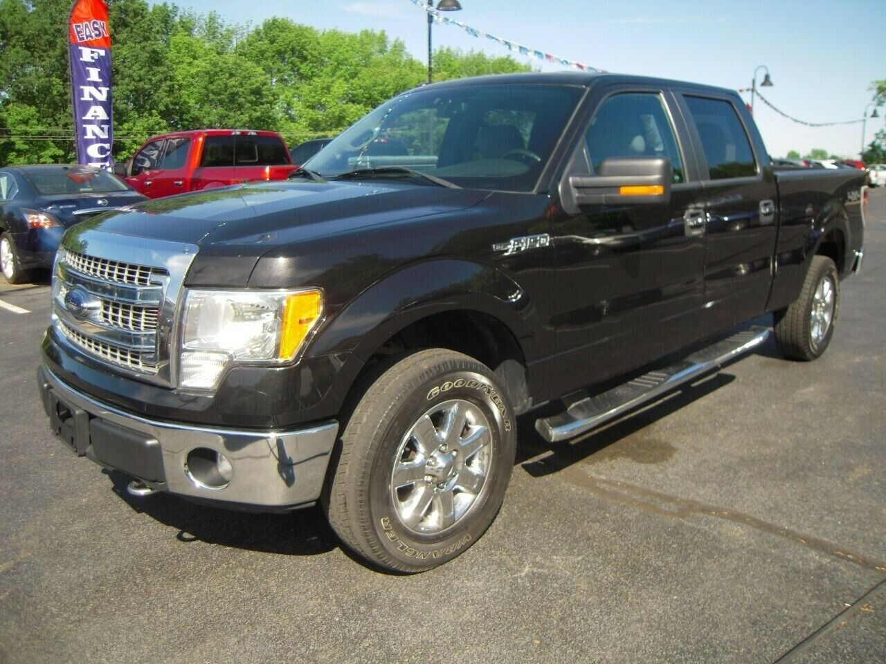 2014 Ford F-150 XLT 4x4 4dr SuperCrew Styleside 5.5 ft. SB 5.0L V8 Automatic 6-S
