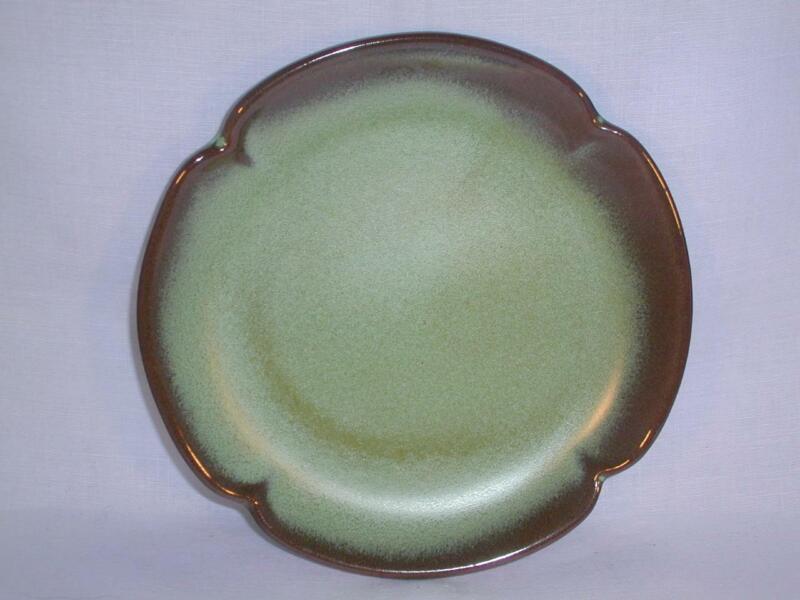 "Frankoma ""Plainsman"" 6½"" Bread & Butter Plates Prairie Green - 6 Available"