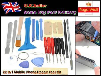 Mobile Phone Repair Tool Kit 22 in 1 SCREWDRIVER SET FOR iPHONE IPAD Samsung