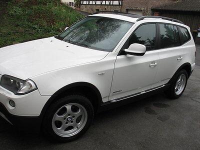 Twin Trittbrett (BMW X3 Typ E83/X83 Alu Trittbretter MICRO Medes Stripes)