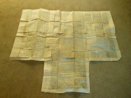 WW II Imperial Japanese Navy / Army - TOPOGRAPHICAL BATTLE MAP - RARE!