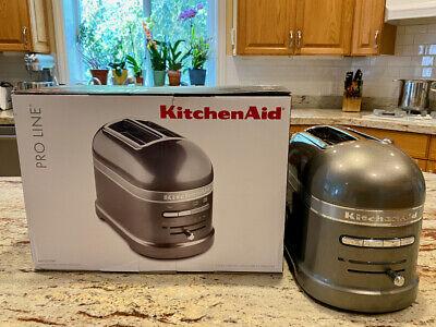 Kitchen Aid Pro Line 2-Slice Medallion Silver Toaster