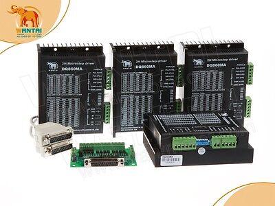 Free Usa 4 Axis Motor Driver Dq860ma 80v 7.8a 256 Micro For Nema34 Motor Cnc