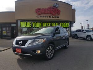 2013 Nissan Pathfinder SL 7 PASS LEATHER TOW PACKAGE REAR CAM H-