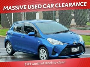 2019 Toyota Yaris NCP130R Ascent Blue 4 Speed Automatic Hatchback Prospect Prospect Area Preview