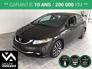 2014 Honda Civic TOURING **GPS-CUIR**