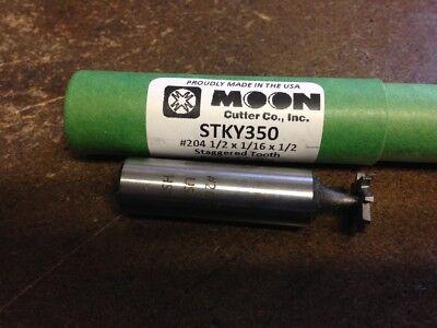 116 X 12 High Speed Steel Stagger Tooth Keyseat Cutter 204 American Standar