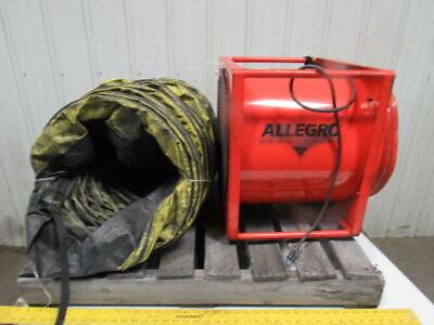 Allegro Model 9515 115v 12hp 3400cfm Confined Area Axial Blower Fan
