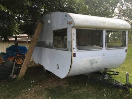 Vintage Caravan Windows