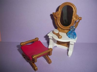 Playmobil   Victorian / Palace Furniture - Dressing Table & Stool  -    NEW