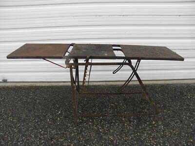 Vintage Operating Examination Autopsy Morticians Cadaver Mortuary Table